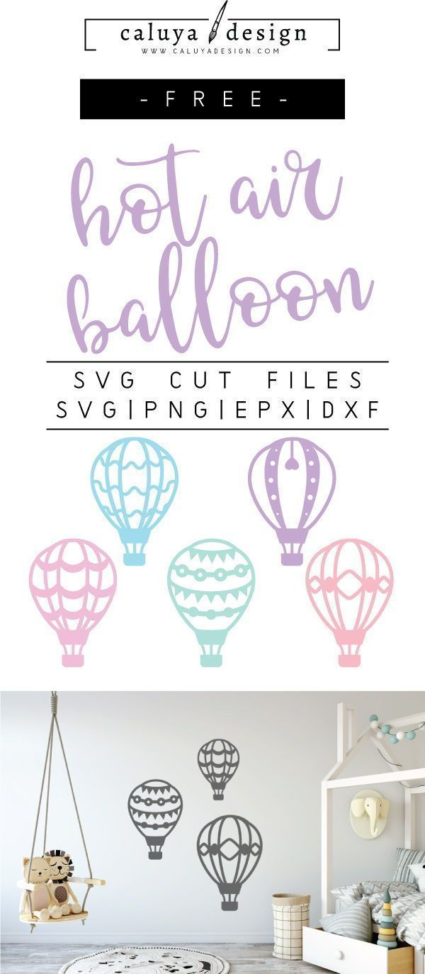 25 +> Free Hot Air Balloon SVG, PNG, EPS & DXF Download