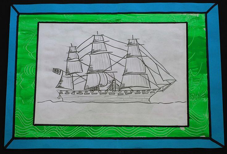 Ship from the First Fleet | Art4myroom