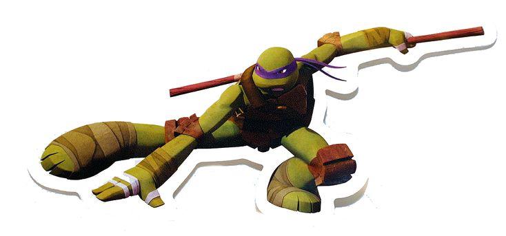 Teenage Mutant Ninja Turtles Donatello TMNT Scratch & Sniff Stickers