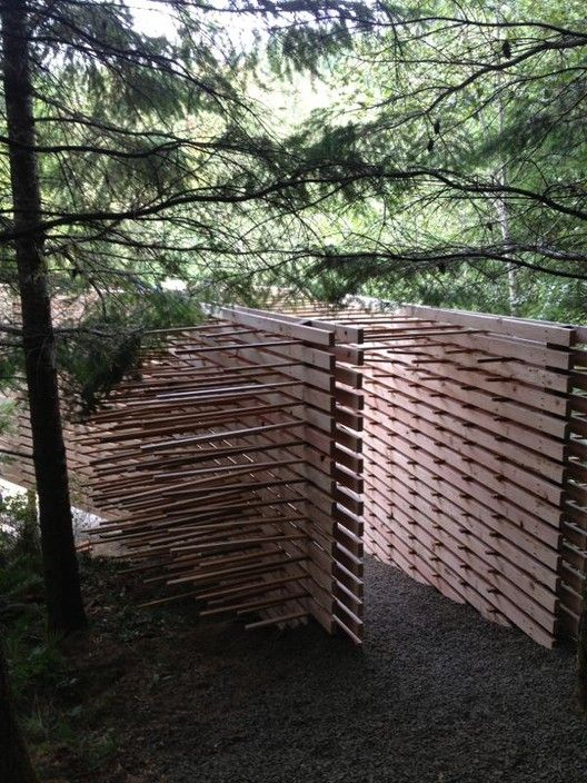 """AA Students """"Amplify the Forest"""",Courtesy of Stewart Dodd and the Architectural Association"""