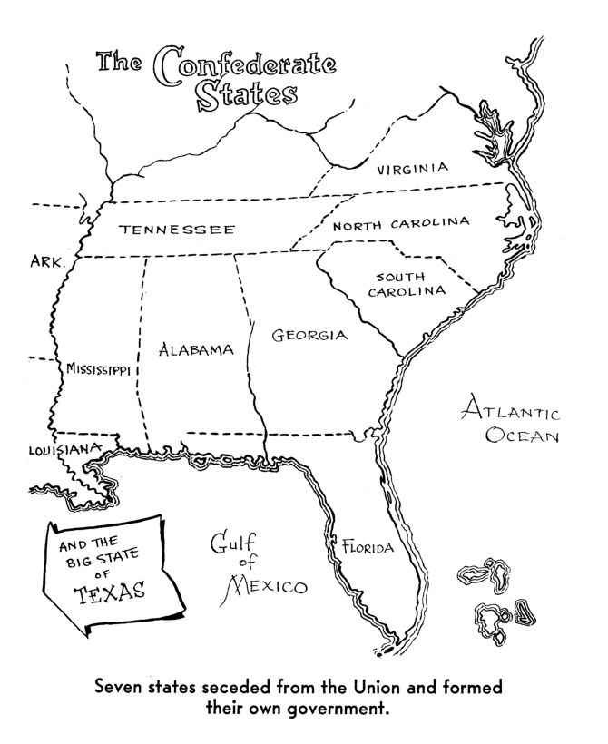 Best Civil War Heroes Ideas On Pinterest Civil War - Map of us at start of civil war