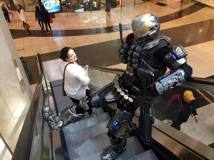 Halo Reach Emile Cosplay
