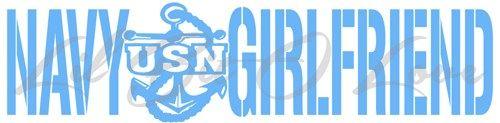 US Navy USN Girlfriend Vinyl Decal - Sticker Window Military Wall ARMY | LilBitOLove - Housewares on ArtFire