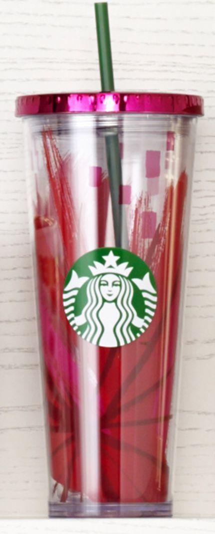 Cualquier vaso Starbucks con popote