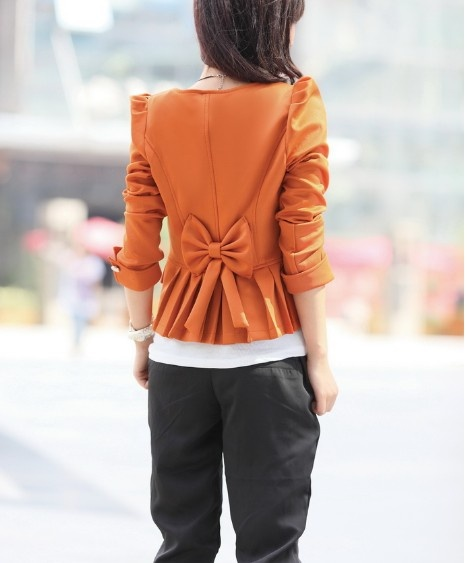 casual blazers for women Puffy Sleeves