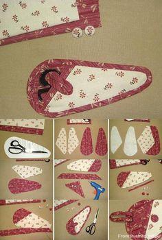 Scissor holder step-by-step