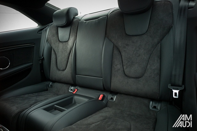 Audi #LoveMyS5 with Black leather and Alcantara inserts