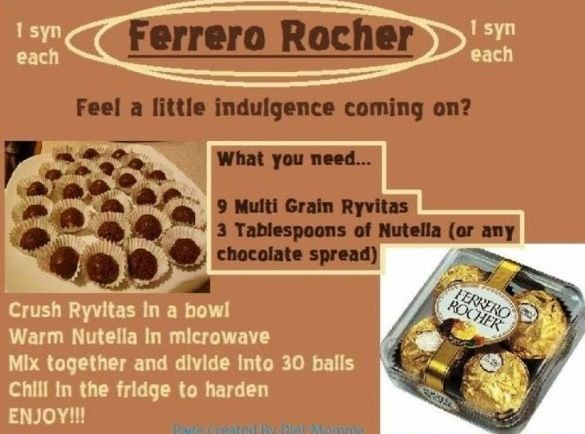 Slimming world. Guerrero richer recipe.  1 syn