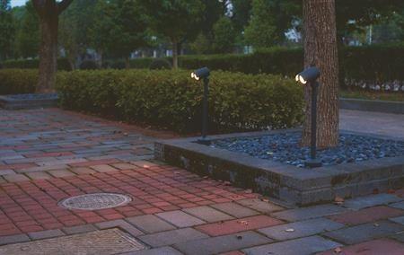 Mini, seinä-/maavalaisin Tauri II LED, IP65 « LED MAAVALAISIMET « Laatuled