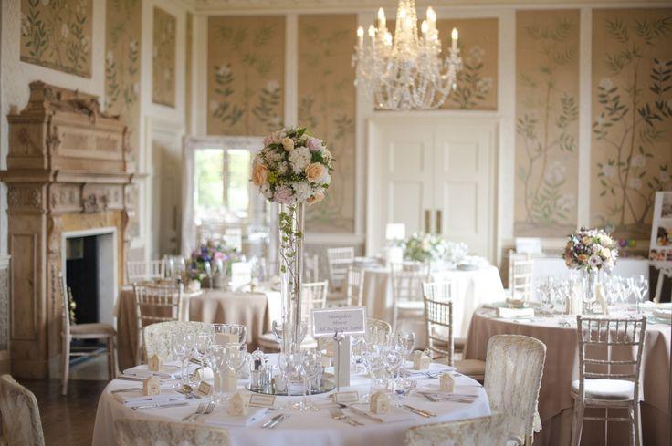 Hampden House gorgeous Dining Room  - Wedding Venue Buckinghamshire.   Photo by Plenty to Declare Wedding Photography