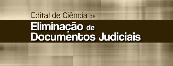 Eliminação de documentos judiciais