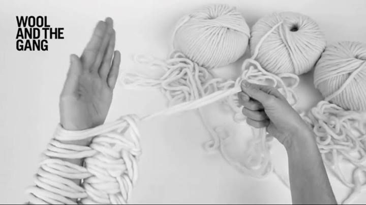 If you need a scarf in a hurry and you've got a few skeins of chunky yarn handy, then treat yourself to this hypnotic arm knitting tutorial video from Wool And The Gang, which gracefully demonstrat...
