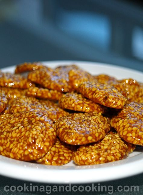 iranian food. poolaki  Sesame Candy Recipe