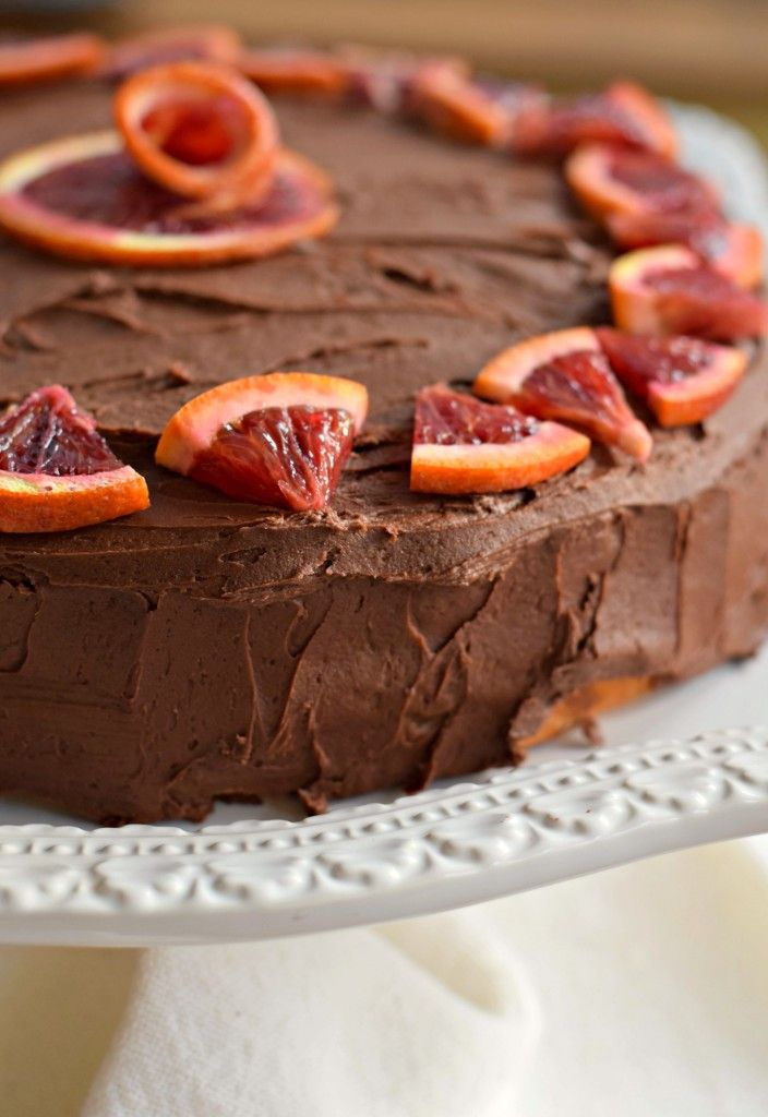 Chocolate orange birthday cake: easy, from scratch recipe for a classic dessert.