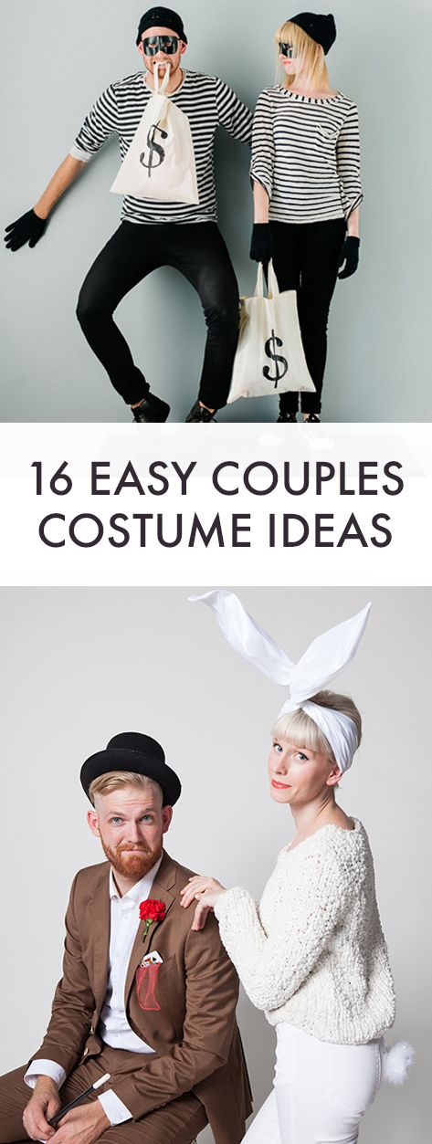 16 Easy Couples Costumes