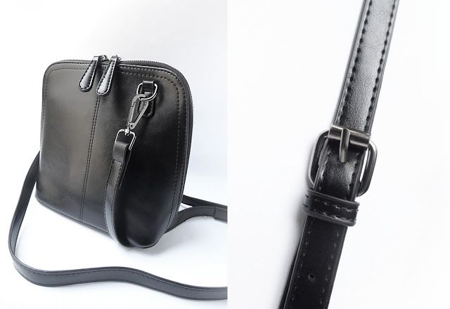 <font><font>Твердые Crossbody мини сумка с пряжкой Zipper / Обзор</font></font>
