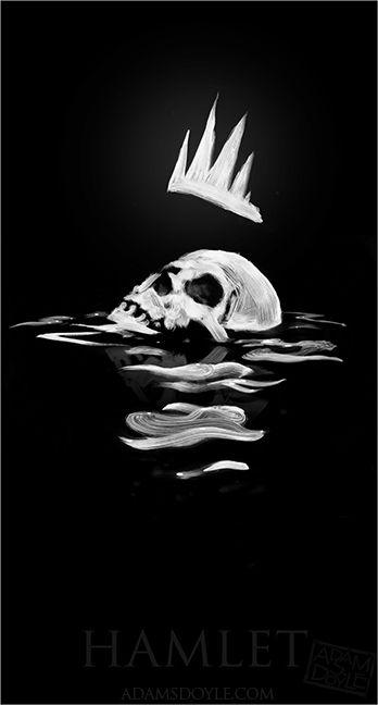Hamlet poster by adamsdoyle