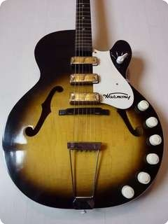 Harmony  Rocket H59 from 1961 #vintageandrare #vintageguitars #vandr