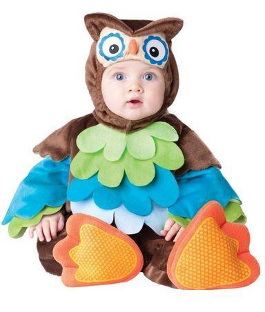 Disfraz de buho para bebé :3 no es adorable?
