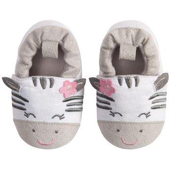 Zebra Crib Shoe #carters