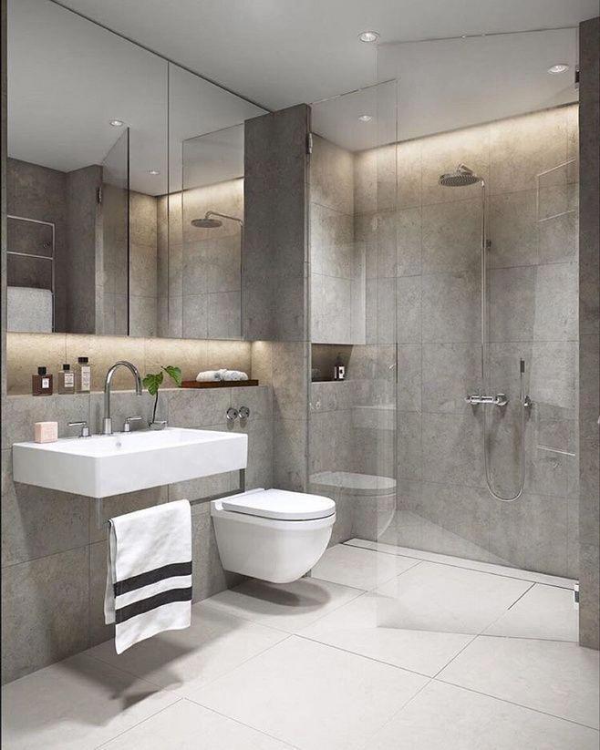 45 Model Glass Bathroom Floor In Your Inspiration Bathroom Tile Ideas Grey Small Bathroom Remodel Small Bathroom Modern Bathroom Small Bathroom Remodel