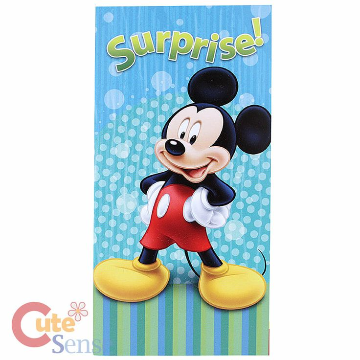Beach Towels Clearance | ... Mickey Mouse Cotton Beach Towel Bath Towel 30 x 60 Surprise | eBay