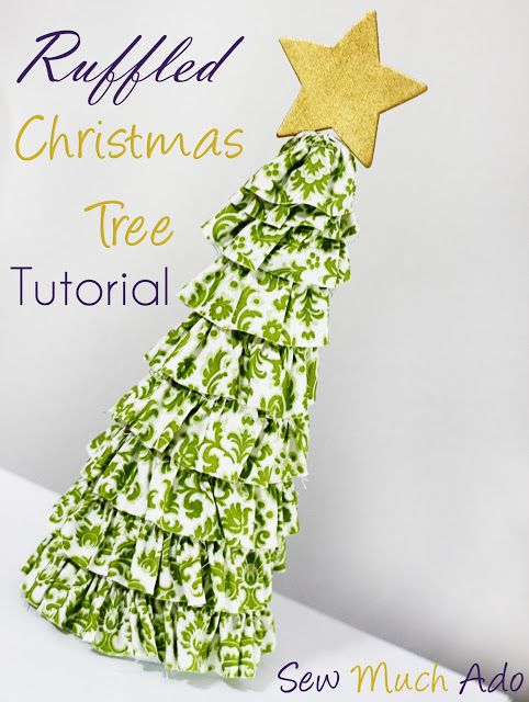 DIY Ruffled Christmas Tree Tutorial!