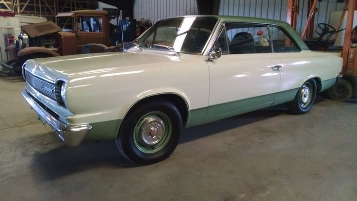 Still For Sale: a 1966 AMC Rambler. Equipped with a 350 engine, turbo 350 transmission, 2-tone green paint, green cloth split frontseat, and power windows. It's really a beautiful ride, and has been kept in doors. $6,950. More Details Here: http://www.johnnydavisclassics.com/chevy-rambler.html