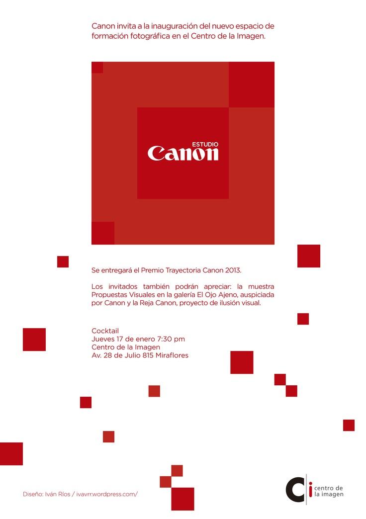 Fiesta Canon e inauguración de nuevo estudio fotográfico.