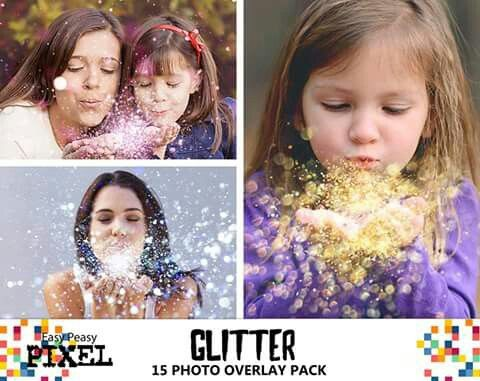 Presenting the new Glitter Overlays Pack! Carefully selected HD images at different focal depths that you can combine to create realistic Glitter Effects. Great for portraits, kids pictures and weddings. This collection includes Blue, Yellow and Magenta color Glitter.  https://www.etsy.com/listing/280789636/glitter-overlays-blowing-glitter  #glitter #photoshop #photoshopoverlays #photoshopoverlay #glitterblown #blowingglitter