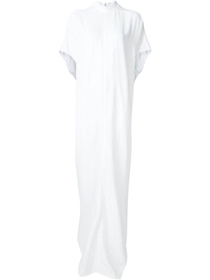 Rick Owens funnel neck maxi dress