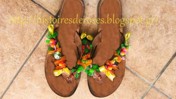 Histoires De Roses: Tropical Sandals !!!!!!!!