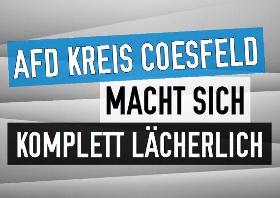 Rainer Wermelt | rainerwermelt.de | AfD Kreis Coesfeld fällt auf Satire-Antrag der Jusos herein und macht sich kompett lächerlich. | http://www.rainerwermelt.de/themen/politik-und-gesellschaft/2016-05-11/afd-kreis-coesfeld