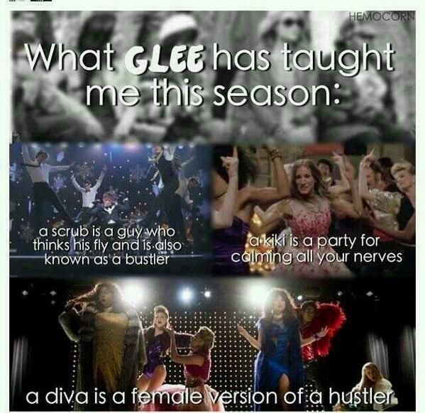 What glee has taught me this season
