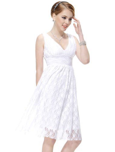 Ever Pretty Sexy Double V-neck Empire Line Lace Cocktail Party Bridesmaid Dress 03410 Ever-Pretty, http://www.amazon.co.uk/dp/B00D8W8SYC/ref=cm_sw_r_pi_dp_nsB0sb1Y682DS
