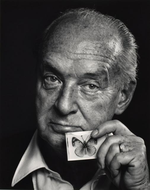 Vladimir Nabokov — by Yousuf Karsh (1972)