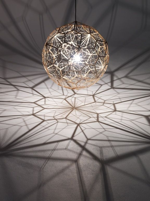 British Designer Tom Dixon Has Created The Etch Web Pendant Lamp.  Description From Tom Dixon: U201c ETCH WEB Is A Vast Wide Shade With An Unusual  Open Structure ...