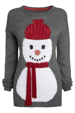 Fun Snowman Sweater