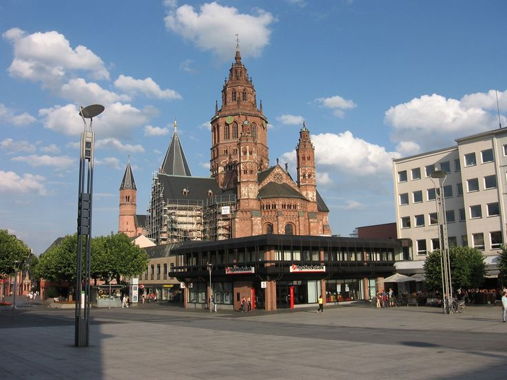 Amazing germany mainz Mainz Cathedral Germany Square overlook World All Details