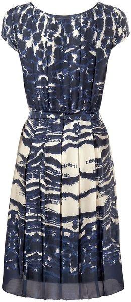 LK Bennett Silver Dress - Lyst