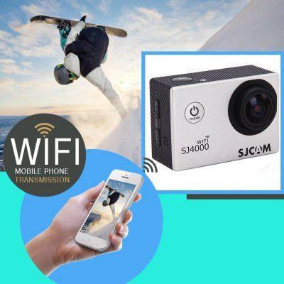 SJCAM SJ4000 WiFi 1080P 1.5 inch LCD Action Camera Sport DV