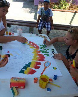 Tabara de arte si multiactivitati la Halkidiki in Grecia
