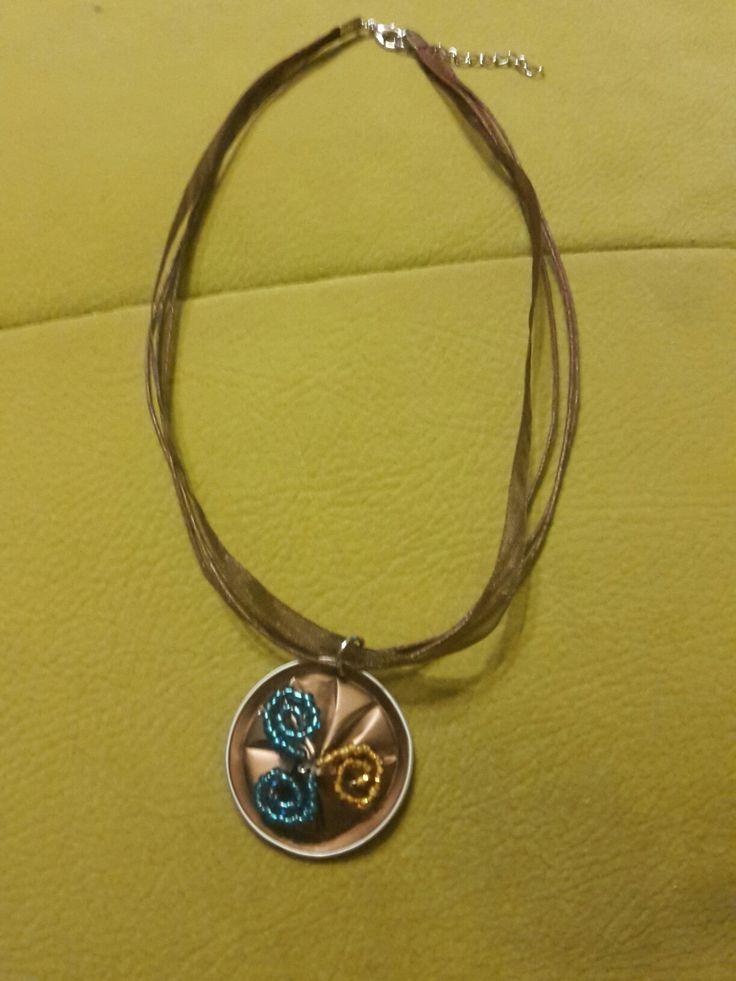 Nespresso capsule necklace