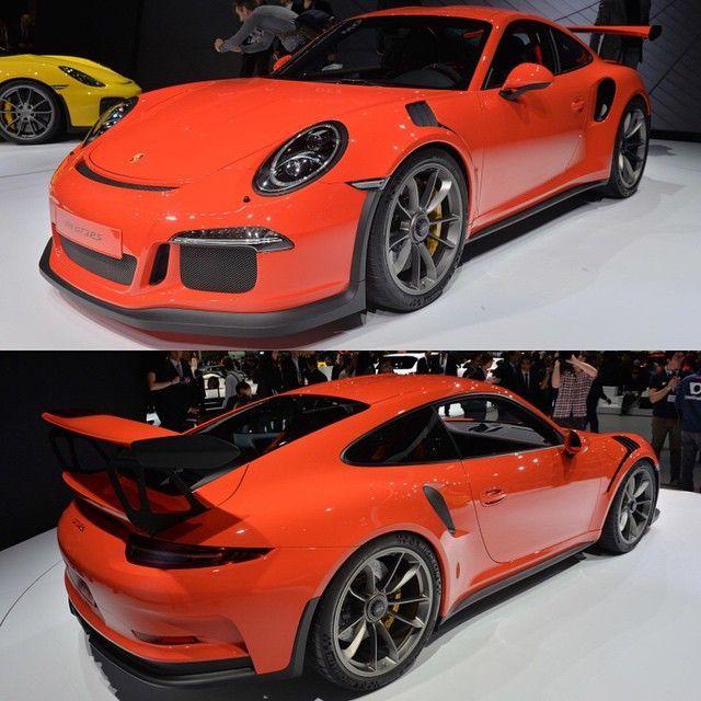Porsche 911 GT3 Porsche 911 GT2 Geneva Motor Show 2016 Porsche 911 GT3 RS #P