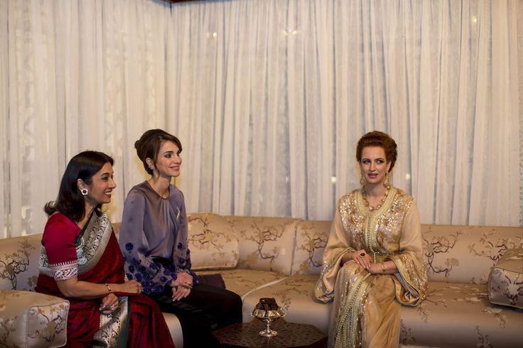 En photos, les épouses des rois du Maroc et de Jordanie - Lalla Salma et la reine Rania réunies à Casablanca