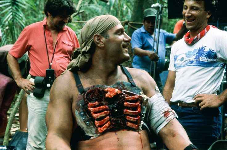 Jesse Ventura gets outfitted with a prosthetic, uh, hole through his body?