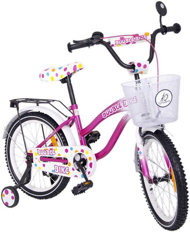 Różowy rowerek Tomabike dla dziewczynki