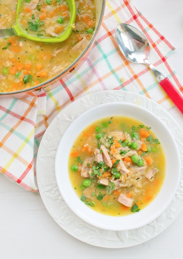 Ham and Lentil soup « The Patterned Plate