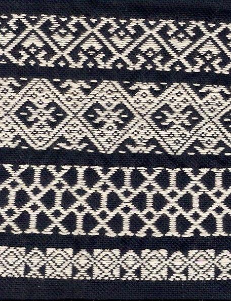 Kogin pattern.