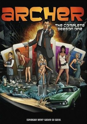 Archer: Season 1 (2 Discs) (Dual-layered DVD)
